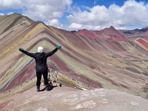 Conquering Rainbow Mountain Peru