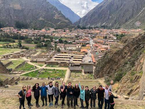 Group Ollantaytambo Peru itinerary