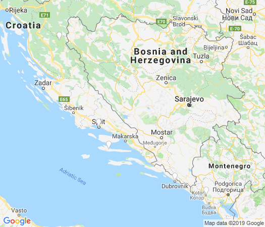 Croatia group travel map 2019