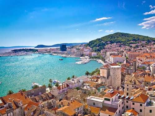 Split Waterfront And Marjan Hill croatia