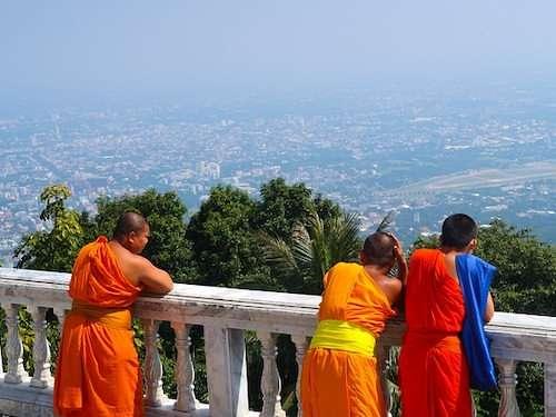 Monks Chiang Mai Thailand