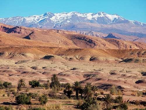 Atlas Mountains landscape Morocco