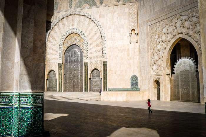 Hassan II Mosque in Casablanca Morocco