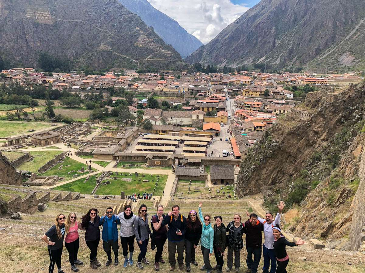 Hanging out in the ruins of Ollantaytambo Peru
