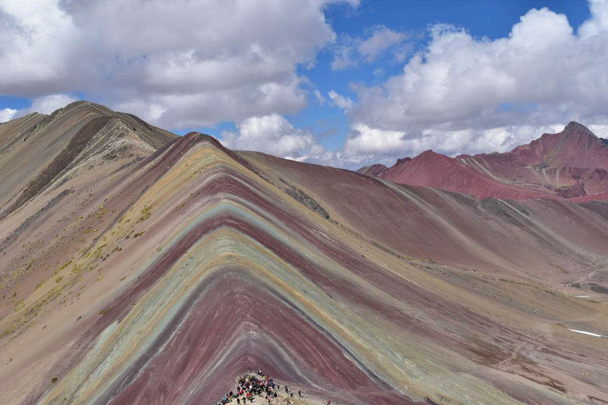 Iconic Rainbow Mountain Peru picture