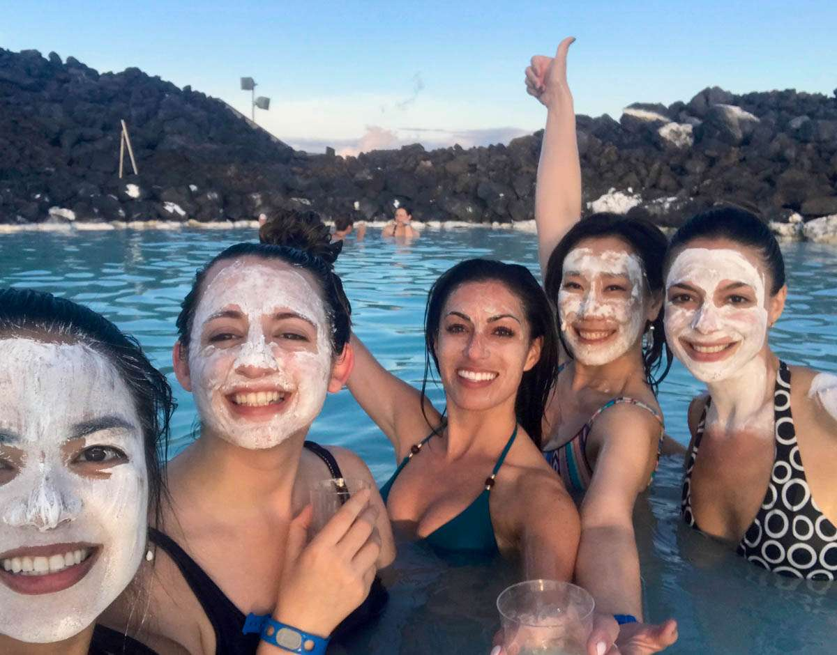 Ladies of the Blue Lagoon