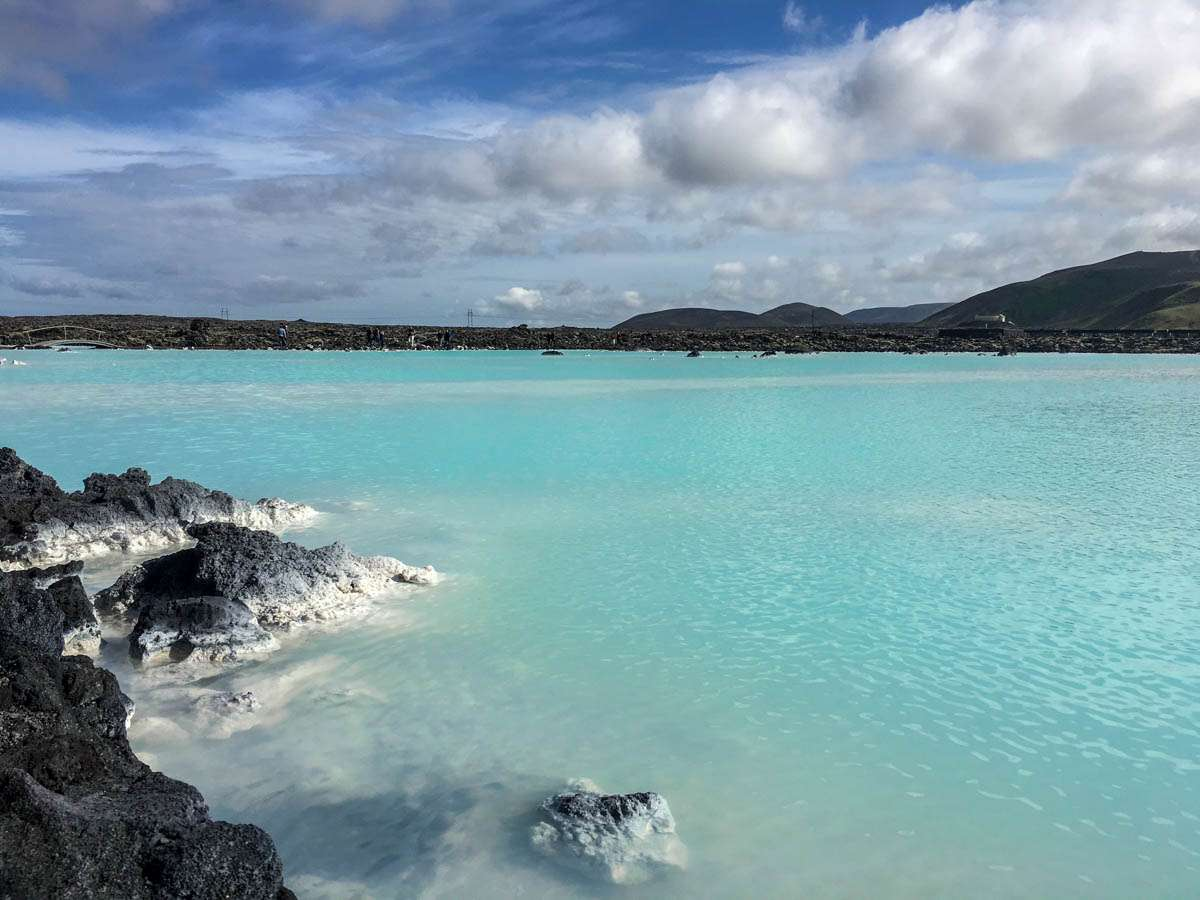 Famous Blue Lagoon Iceland