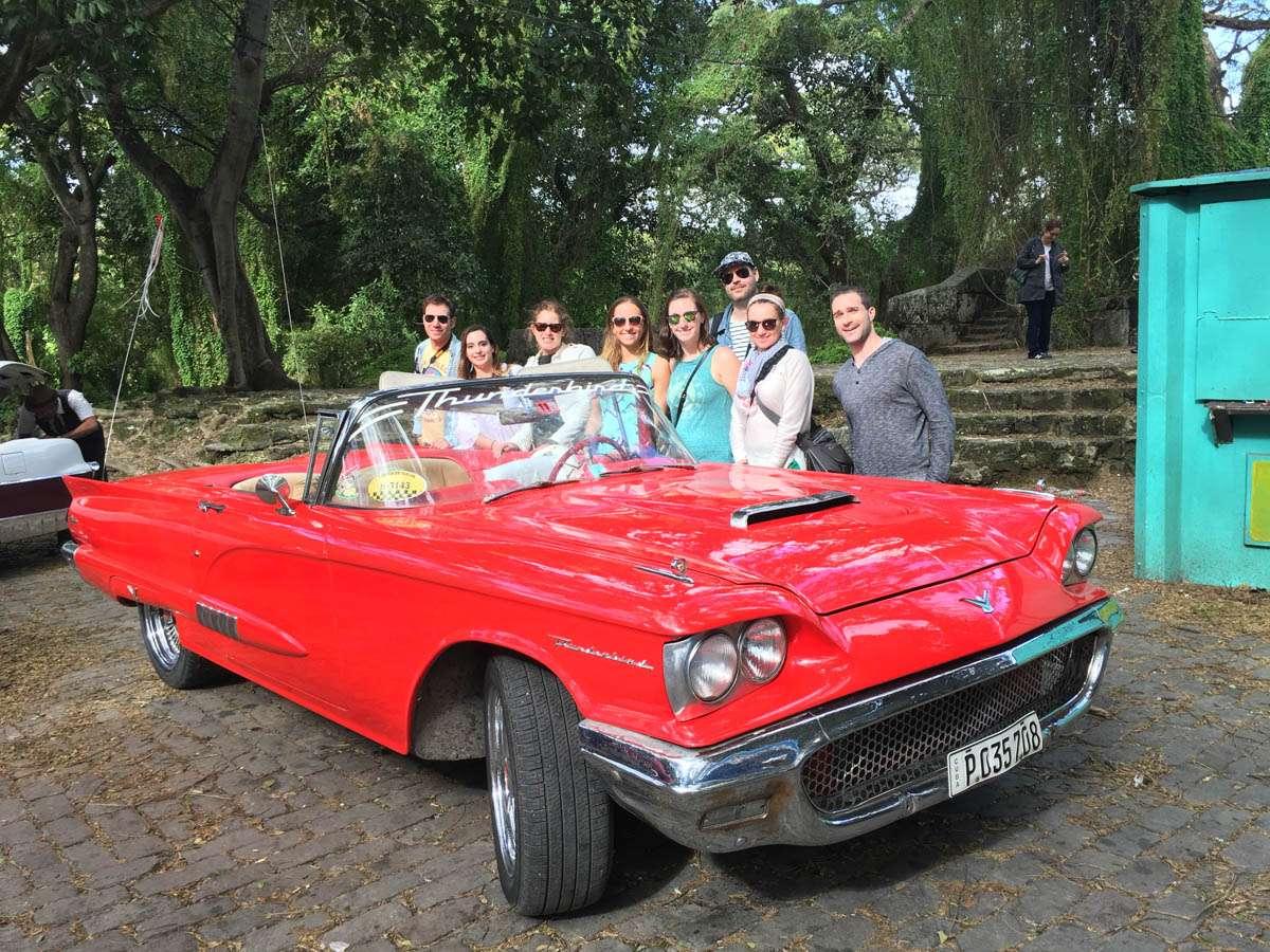 Thunderbird classic car in Havana