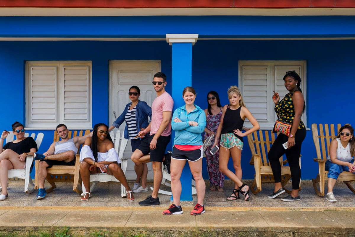 Posing in Vinales Cuba