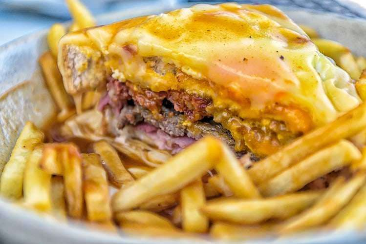 Francesinha sandwich Portugal