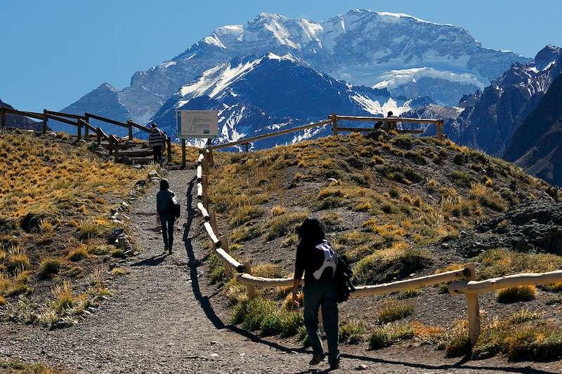 Hiking in Parque Provincial Aconcagua