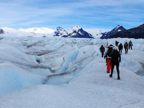 Perito Moreno Glacier hiking itinerary