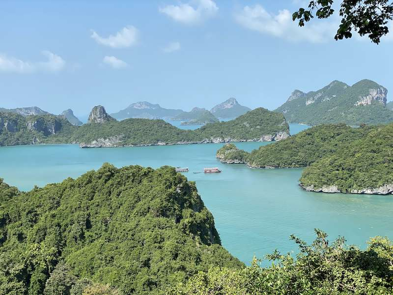 Ang Thong National Park views