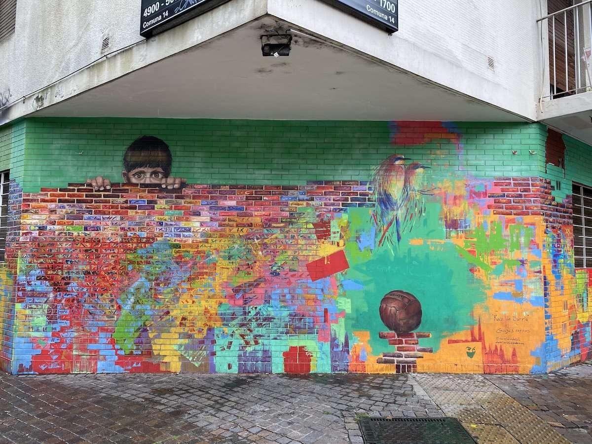 Cool Palermo Soho graffiti