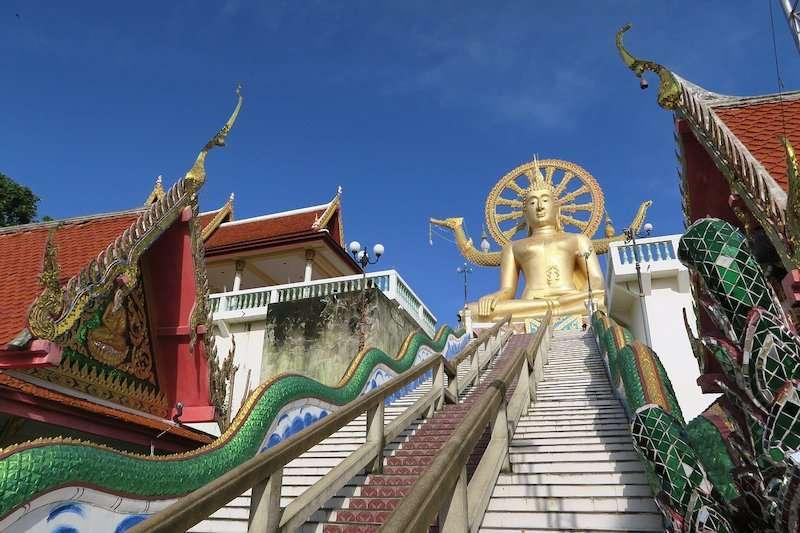 Wat Phra Yai temple on Koh Samui