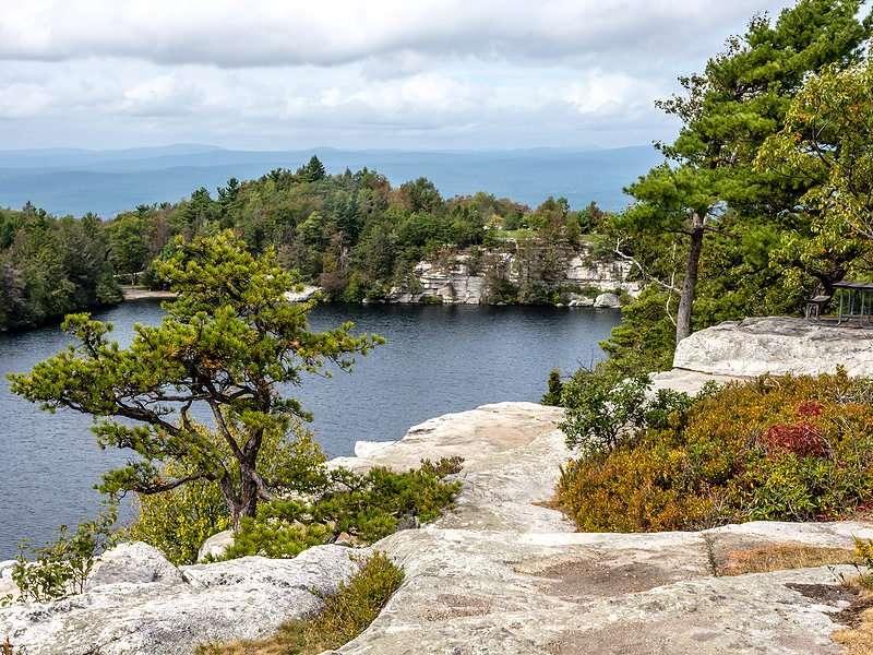 Minnewaska State Park views